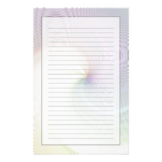Abstract Lines 8 Stationery