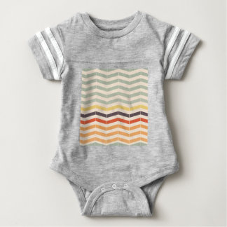 Abstract lines baby bodysuit