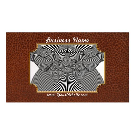 Abstract - Lines - Bad Dog Business Card