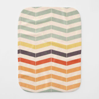 Abstract lines burp cloth