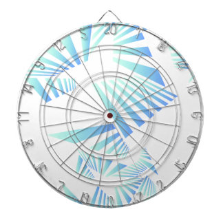 abstract lines design dartboard