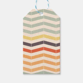Abstract lines gift tags
