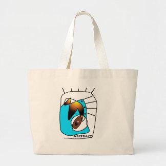 Abstract Lines Jumbo Tote Bag
