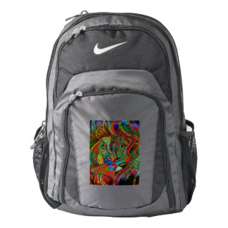 Abstract Lion Backpack