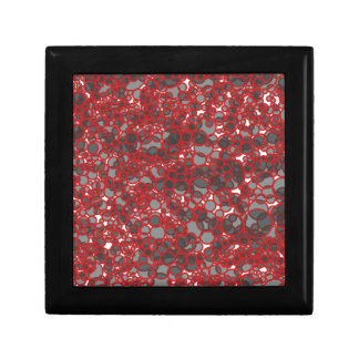 Abstract Love Small Square Gift Box