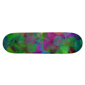 Abstract Lucky Winner Gambler Skateboard