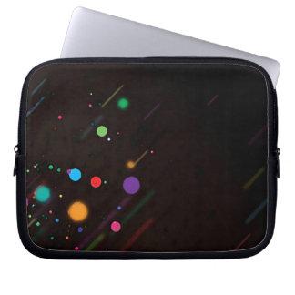 Abstract _lunares _funda_10 laptop sleeve