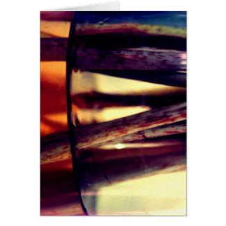Abstract macro card