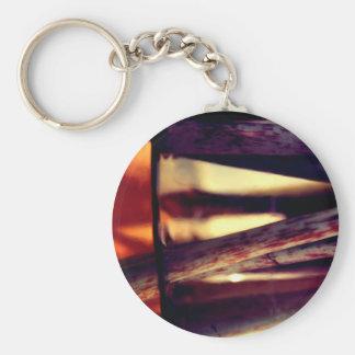 Abstract macro key ring
