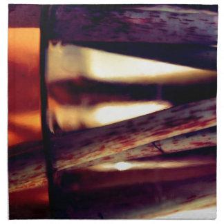 Abstract macro napkin