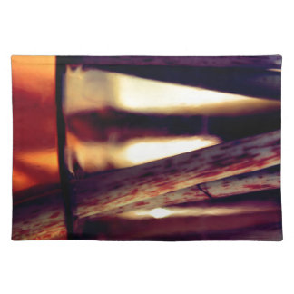 Abstract macro placemat