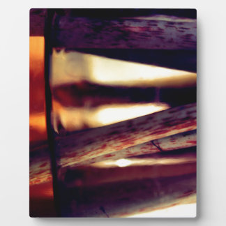 Abstract macro plaque