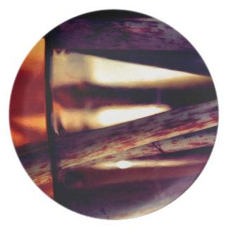 Abstract macro plate
