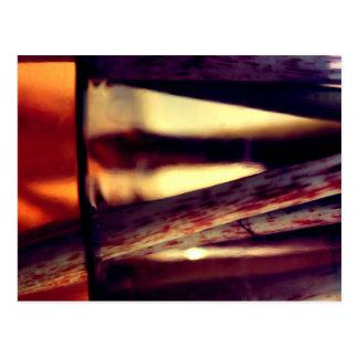 Abstract macro postcard