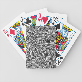 Abstract Macro Shapes Bicycle Playing Cards