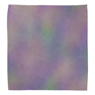 Abstract Magenta Purple Gold Green Bandana