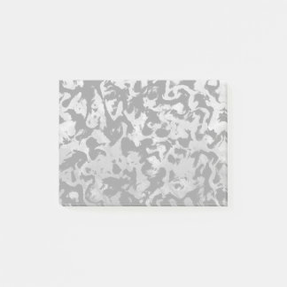 Abstract Magic - Silver Black Post-it Notes