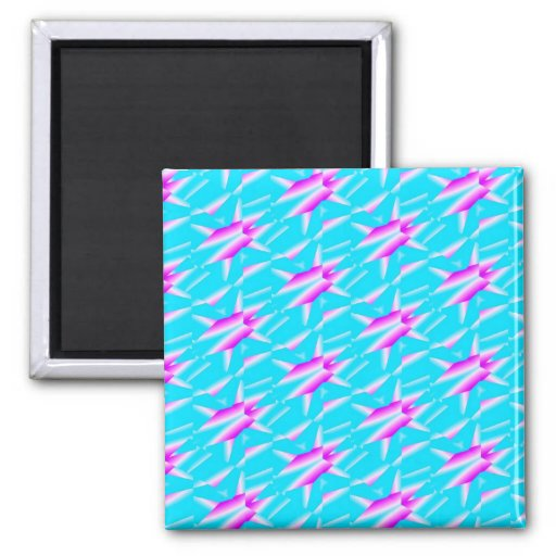Abstract Refrigerator Magnet