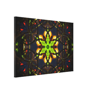 Abstract Mandala Art Canvas Print