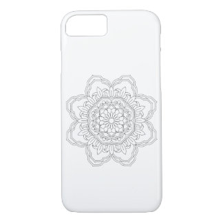 abstract mandala design. Vector oriental iPhone 8/7 Case