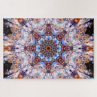 Abstract Mandala Jigsaw Puzzle