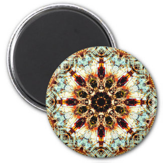 Abstract Mandala Magnet