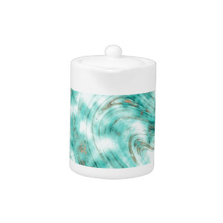 Abstract marble blue