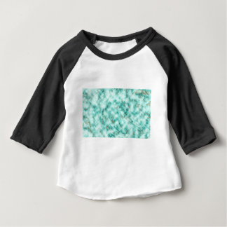 Abstract marble blue baby T-Shirt