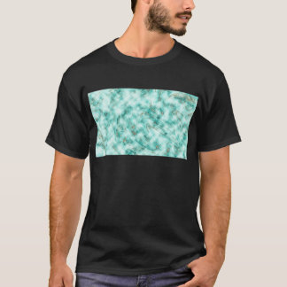 Abstract marble blue T-Shirt