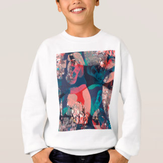 Abstract Marbled Sweatshirt