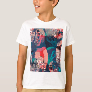 Abstract Marbled T-Shirt