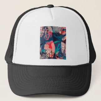 Abstract Marbled Trucker Hat