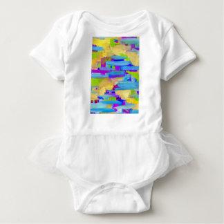 Abstract Marsh Baby Bodysuit