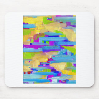 Abstract Marsh Mouse Pad