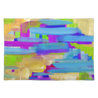 Abstract Marsh Placemat