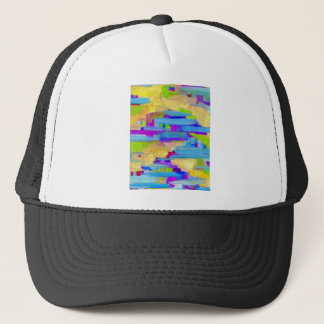 Abstract Marsh Trucker Hat