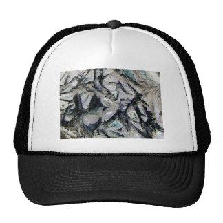 Abstract mason like background, customize it! trucker hat