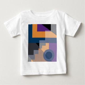 Abstract Mayan Pyramids Baby T-Shirt