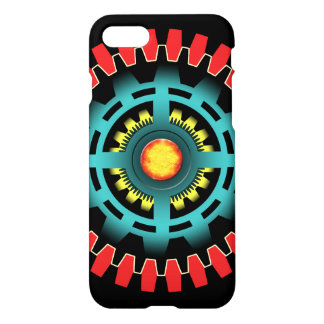 Abstract mechanical object iPhone 7 case