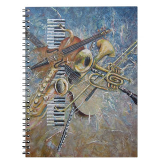 Abstract Melody notebook