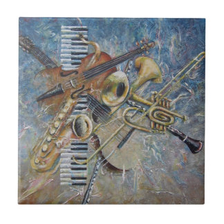 Abstract Melody tile