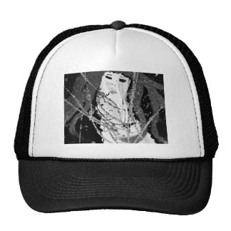 Abstract mermaid cap