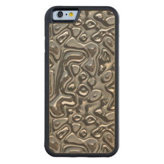 Abstract Metal Carved® Maple iPhone 6 Bumper Case