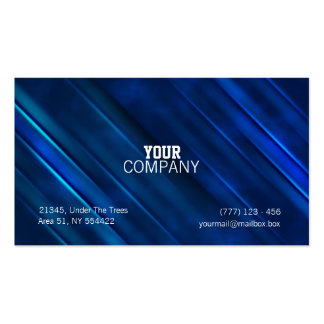 Abstract metalic business card