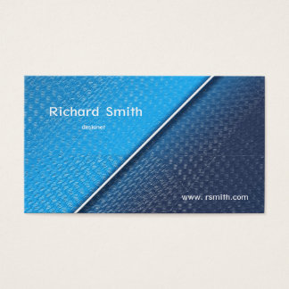 Abstract metallic brushed surface texture. business card