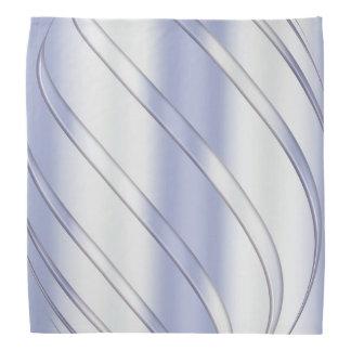 abstract metallic dynamic texture. bandana