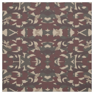 Abstract Military Camouflage Pattern Fabric