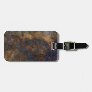 Abstract Milkyway Galaxy with cosmic cloud 3 Luggage Tag