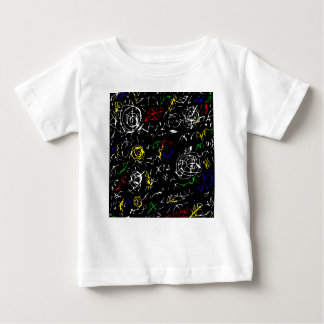 Abstract mind - colorful baby T-Shirt