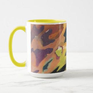 Abstract Minimalist Painting Inspirational Cute Mug